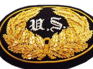 Union Officers Large Hat Insignia Badge